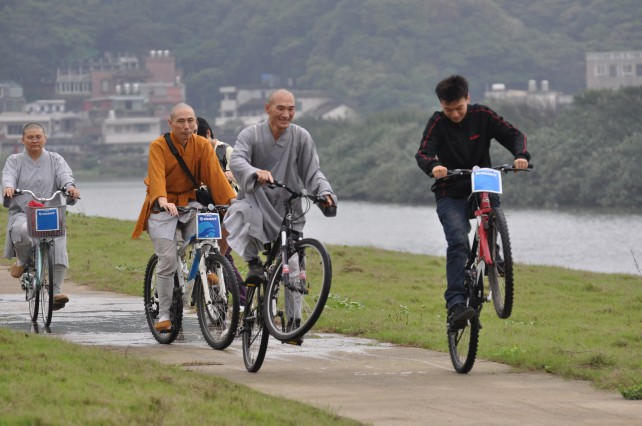Biking excursion along the coast (Jinshan valley) )