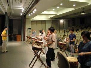 Drumming practice