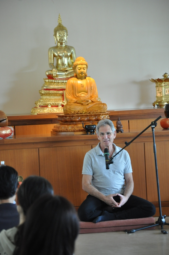 Workshop lead by prof. Jon Kabat-Zinn