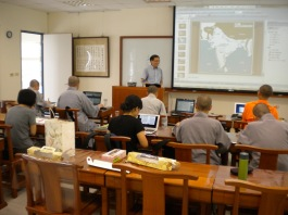 Undergraduate class on the history of Indian Buddhism