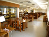 First floor of the Library and Information Center (圖書資訊館)
