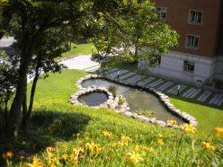 Pond near the Monks' living quarters (男寮)