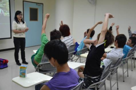 Activity organized for the benefit of troubled youth at local care center