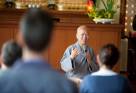 Ven. Guoyuan (果元法師) teachings Chan methods of meditation