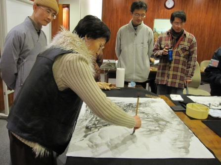 Chinese painting class