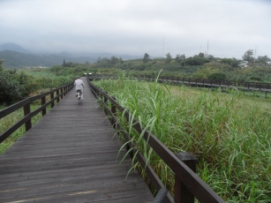 Biking excursion along the coast (Jinshan valley)