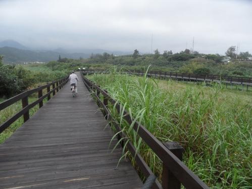 Biking excursion along the coast (Jinshan valley)