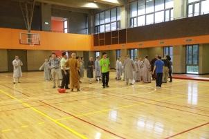 Indoor activity in the Fitness Center (揚生館)